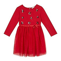 bluezoo - Girls' red star dress