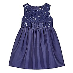 bluezoo - Girls' purple sequin dress
