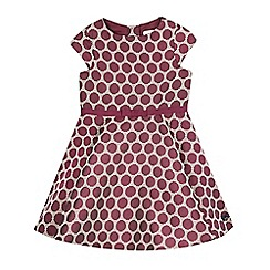 J by Jasper Conran - Girls' plum purple circle dress