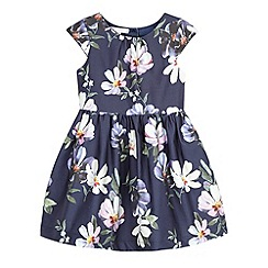 RJR.John Rocha - Girls' navy floral dress