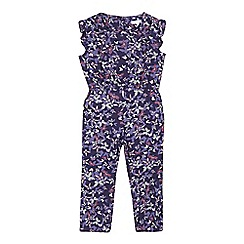 RJR.John Rocha - Girls' navy butterfly jumpsuit