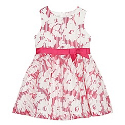 RJR.John Rocha - Designer girl's pink burnout floral dress