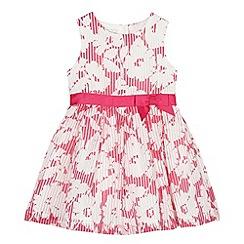 RJR.John Rocha - Designer girl's pink burnout floral dress