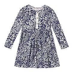 Mantaray - Girls' blue floral dress