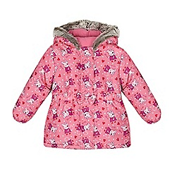 Peppa Pig - Girl's pink 'Peppa Pig' padded coat