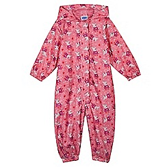 Peppa Pig - Girl's pink 'Peppa Pig' puddle suit