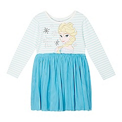 Disney Frozen - Girl's blue 'Elsa' dress