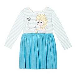 Disney Frozen - Girl's blue 'Elsa' dress