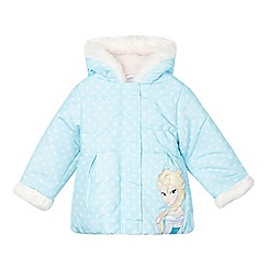 Disney Frozen - Girl's light blue 'Elsa' padded coat
