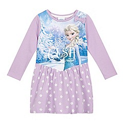 Disney Frozen - Girls' pink 'Frozen' party dress