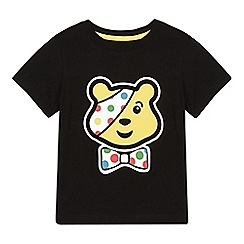 BBC Children In Need - Girl's black 'Pudsey' t-shirt