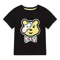 BBC Children In Need - Girl's black 'Pudsey' t-shirt