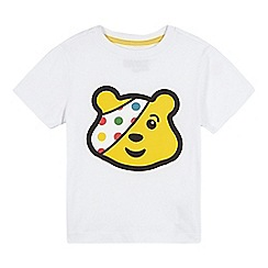 BBC Children In Need - Children's white 'Pudsey' t-shirt