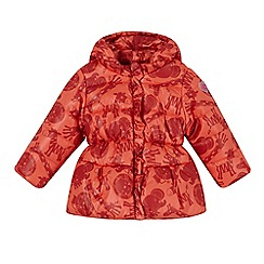 Esprit - Babies orange animal print padded coat