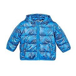 Esprit - Babies bright blue padded animal jacket