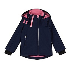 Esprit - Girl's navy soft shell jacket