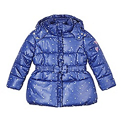 Esprit - Girl's blue padded star coat