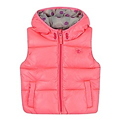 Esprit - Girl's bright pink padded gilet