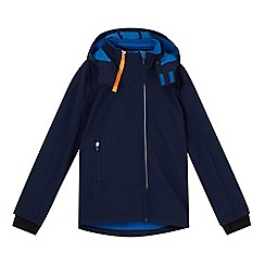 Esprit - Boy's navy soft shell jacket