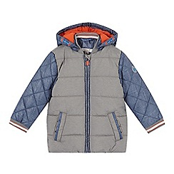 Esprit - Boy's blue colour block padded coat
