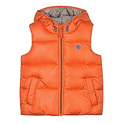 Esprit - Boy's orange padded gilet