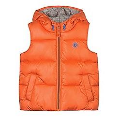 Esprit - Boy's orange padded gilet