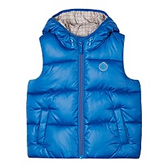 Esprit - Boy's blue padded gilet