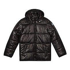 Esprit - Boy's black padded jacket