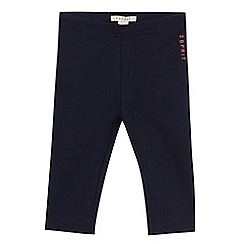 Esprit - Babies navy logo leggings