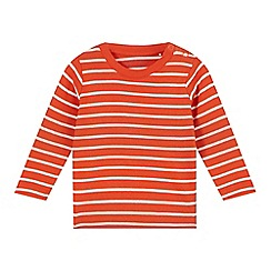 Esprit - Babies orange striped top
