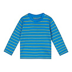 Esprit - Babies bright blue stripped t-shirt
