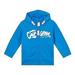 Esprit - Babies bright blue 'California' zipped hoodie