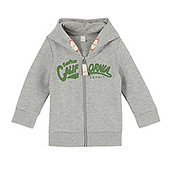 Esprit - Babies light grey 'California' zipped hoodie