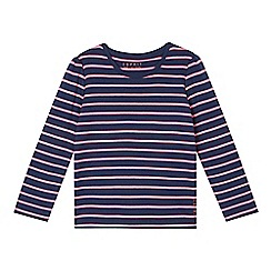 Esprit - Girl's navy striped top