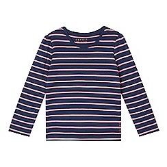 Esprit - Girl's navy striped top