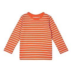 Esprit - Boy's orange striped top
