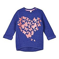 Esprit - Babies blue glittery butterflies sweatshirt