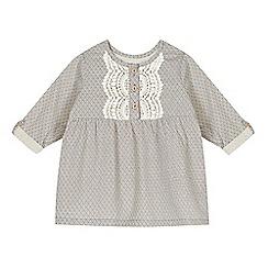 Esprit - Babies blue geometric print blouse