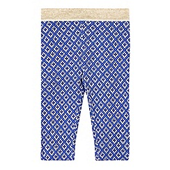 Esprit - Babies blue geo printed leggings
