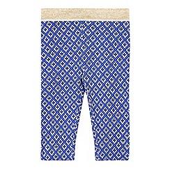 Esprit - Babies blue geo printed leggings