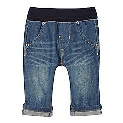 Esprit - Babies dark blue ribbed waist jeans