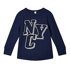 Esprit - Boy's navy 'NYC' sweat top