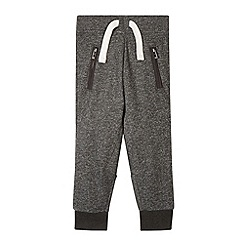 Esprit - Boy's grey marl cuffed jogging bottoms