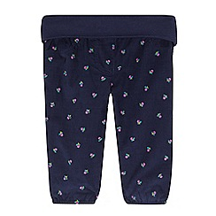 Esprit - Baby girls' navy cord trousers