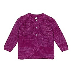 Esprit - Baby girls' purple cardigan