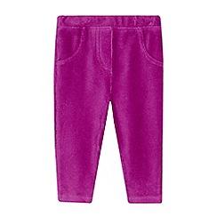 Esprit - Baby girls' dark pink joggers