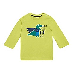 Esprit - Baby boys' bright green 'Super Dino' top