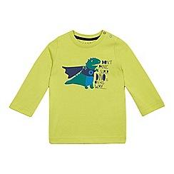 Esprit - Baby boys' bright green 'Super Dino' top
