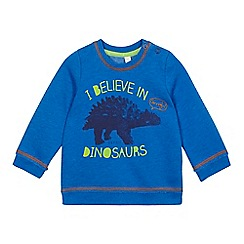 Esprit - Baby boys' blue dinosaur sweat top