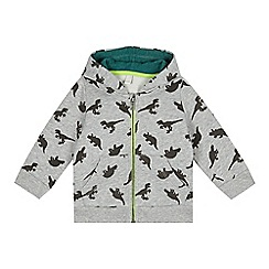 Esprit - Baby boys' light grey dinosaur hoodie